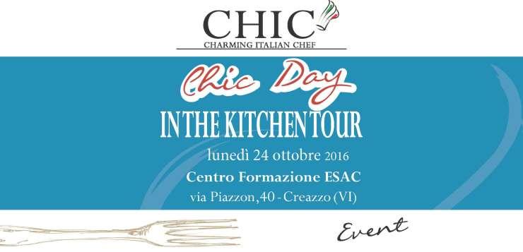 Lunedì 24 Ottobre In The Kitchen Tour chiude il 2016 a Creazzo (VI)
