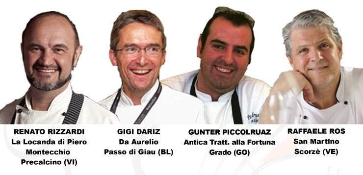 Lunedì 24 Ottobre: Cena a 8 Mani a La Locanda di Piero con i sapori dell'autunno