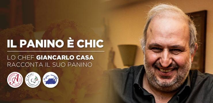 Torna l'appuntamento Il Panino è CHIC con Giancarlo Casa e Amarcord