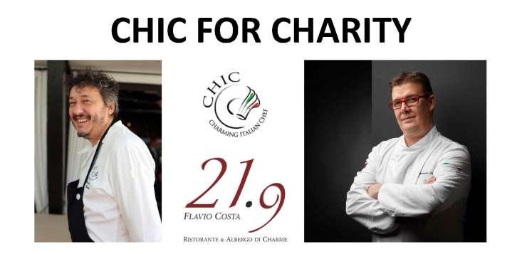 Flavio Costa e Alessandro Gilmozzi insieme per CHIC For Charity