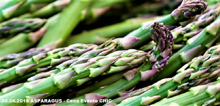 Asparagus: venerdì 20 Aprile cena a 4 mani