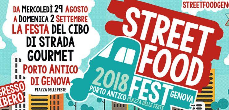 CHIC partner della StreetFoodFest 2018 di Genova