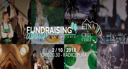 Martedì 2 ottobre ai piedi dell'Etna: In The Kitchen Tour e Fundraising Dinner